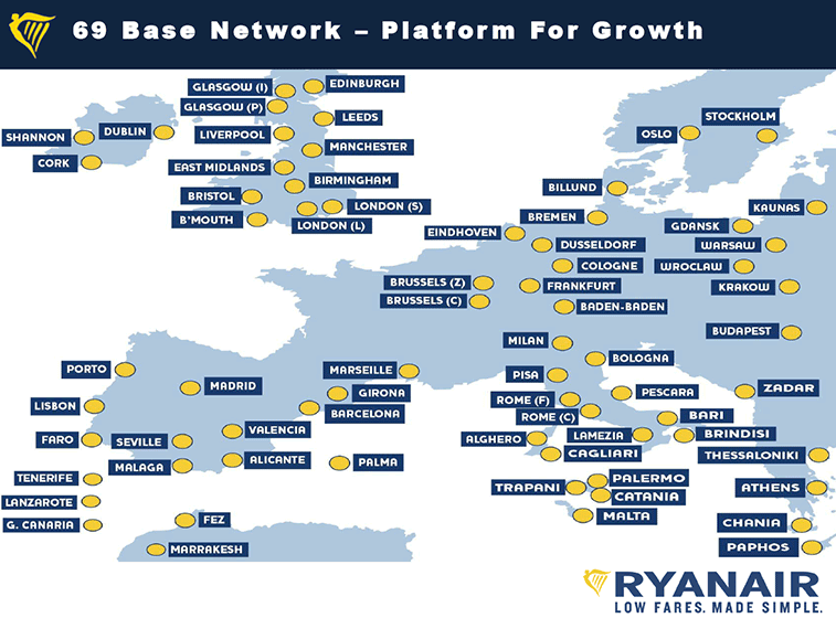 Ryanair opinioni 2015 voli low cost offerte e commenti for Voli low cost amsterdam