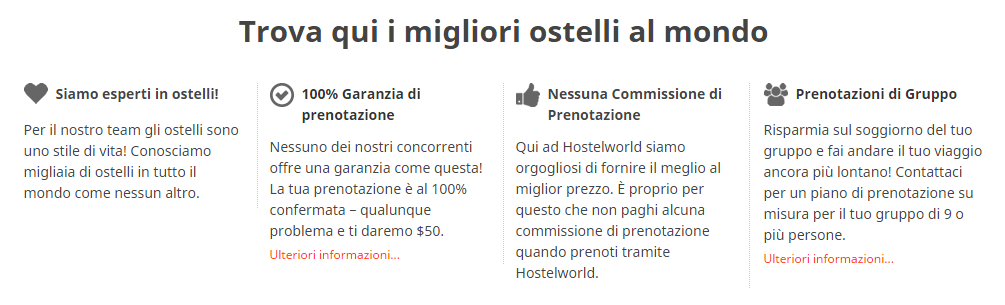 Hostelworld opinioni 2016