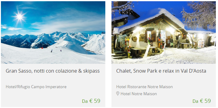 Offerte neve viaggi