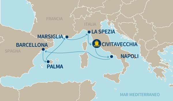 crociere Mediterraneo 2016
