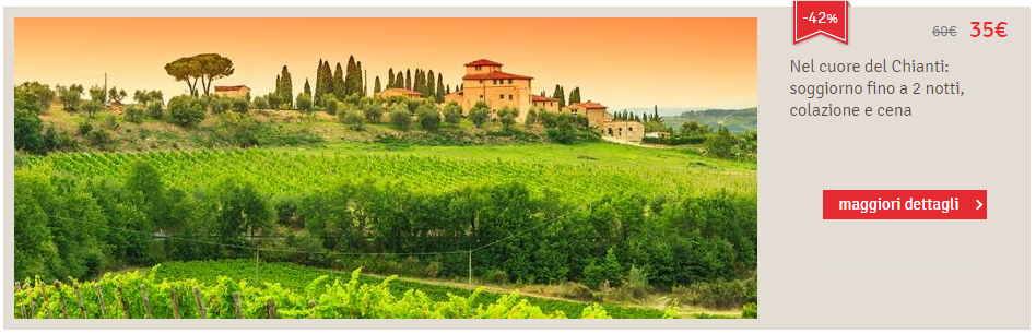 LetsBonus Viaggi Toscana