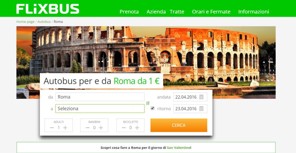 Flixbus Roma