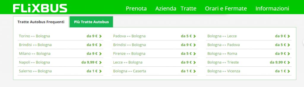 Flixbus bologna