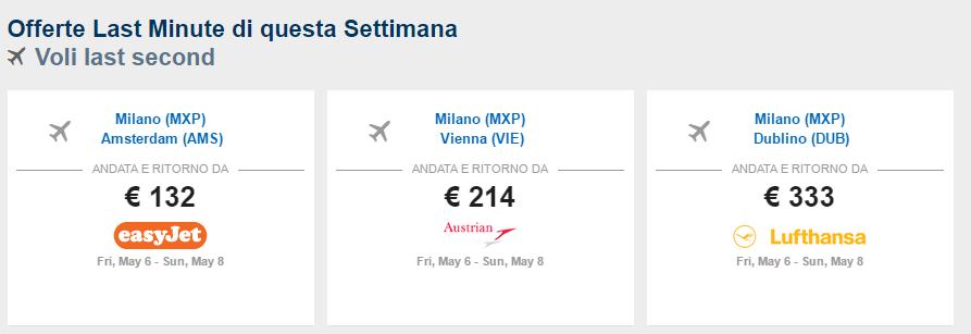 Viaggi last minute prezzi 2016