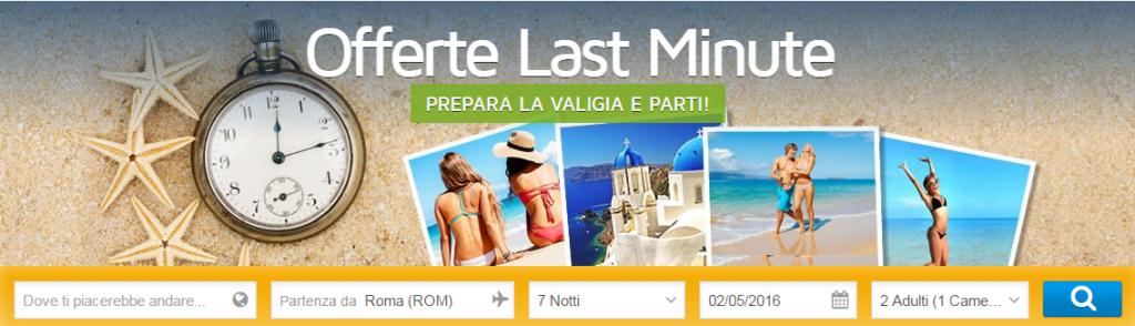 Viaggi last minute offerte 2016