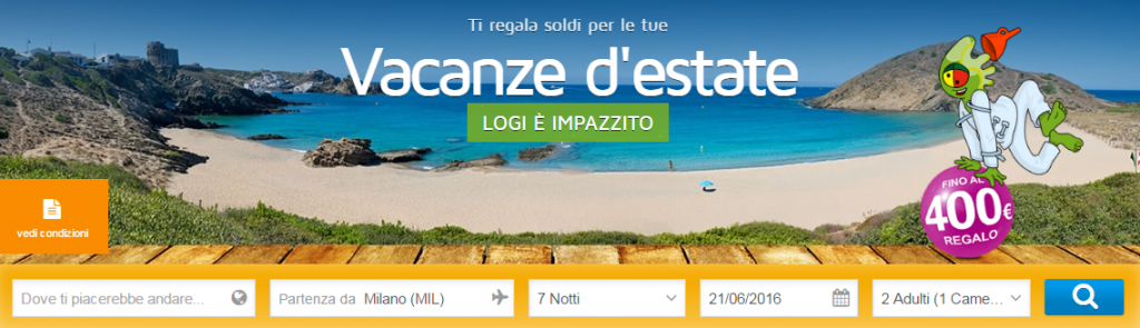 Viaggi all inclusive 2016 online