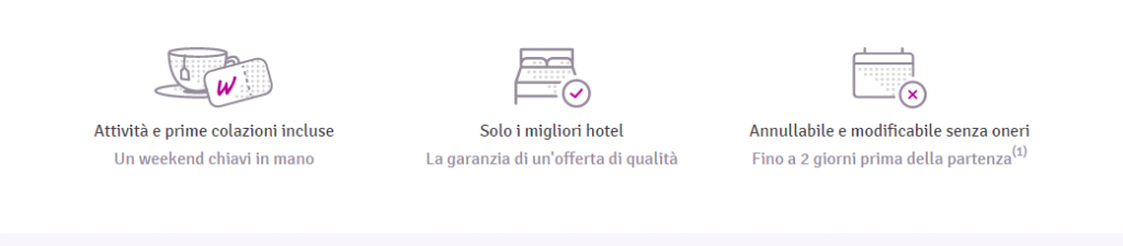 weekendesk commenti