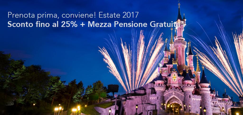 Disneyland Paris 2017 prezzi offerte low cost e last minute