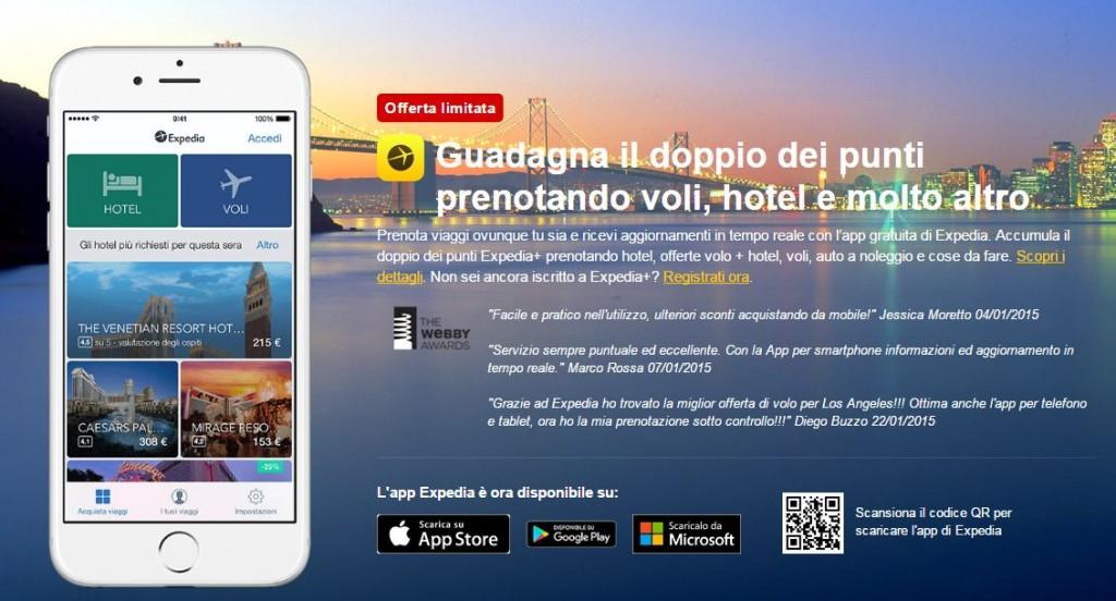 expedia vacanze app
