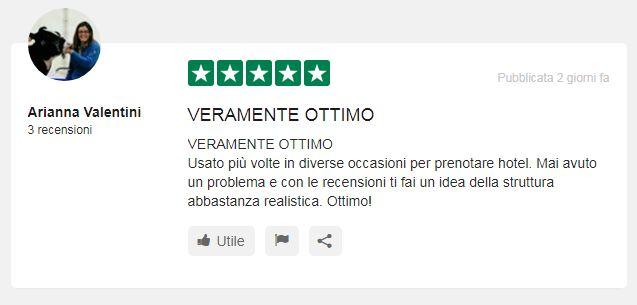 booking italia opinioni