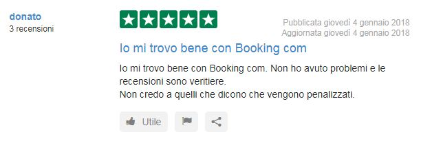 Booking opinioni