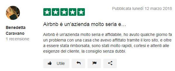 airbnb opinioni
