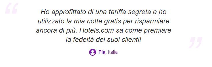 hotels.com tariffe segrete