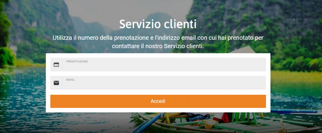 flyuvet servizio clienti