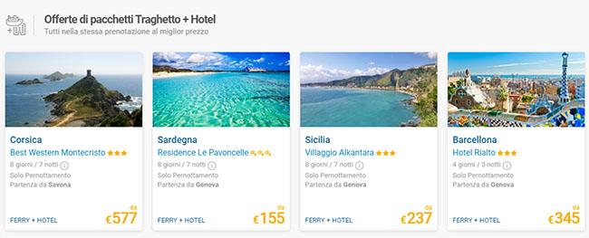 logitravel pacchetti traghetto+hotel